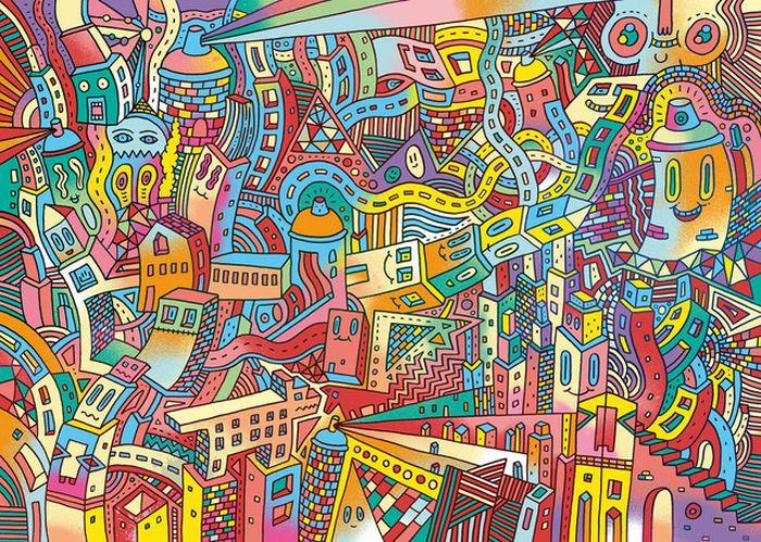 Ciudades Saturadas 01 420x300 Giclee Digital e50 result