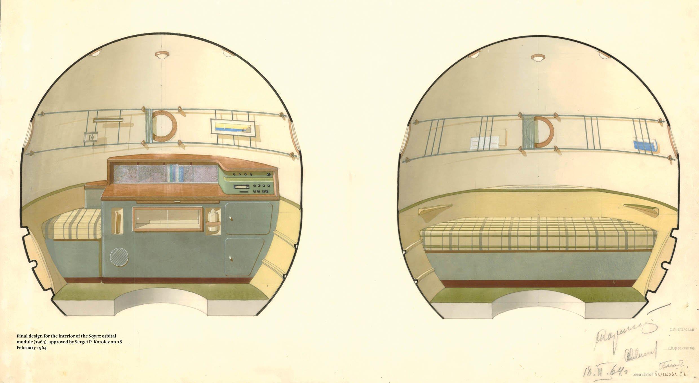 El entusiasmo espacial y la arquitectura soviética