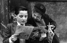 17th May 1952:  Two young boys reading comics. Original Publication: Picture Post - 5861 - Should US Comics Be Banned? - pub. 1952  (Photo by Thurston Hopkins/Picture Post/Getty Images)