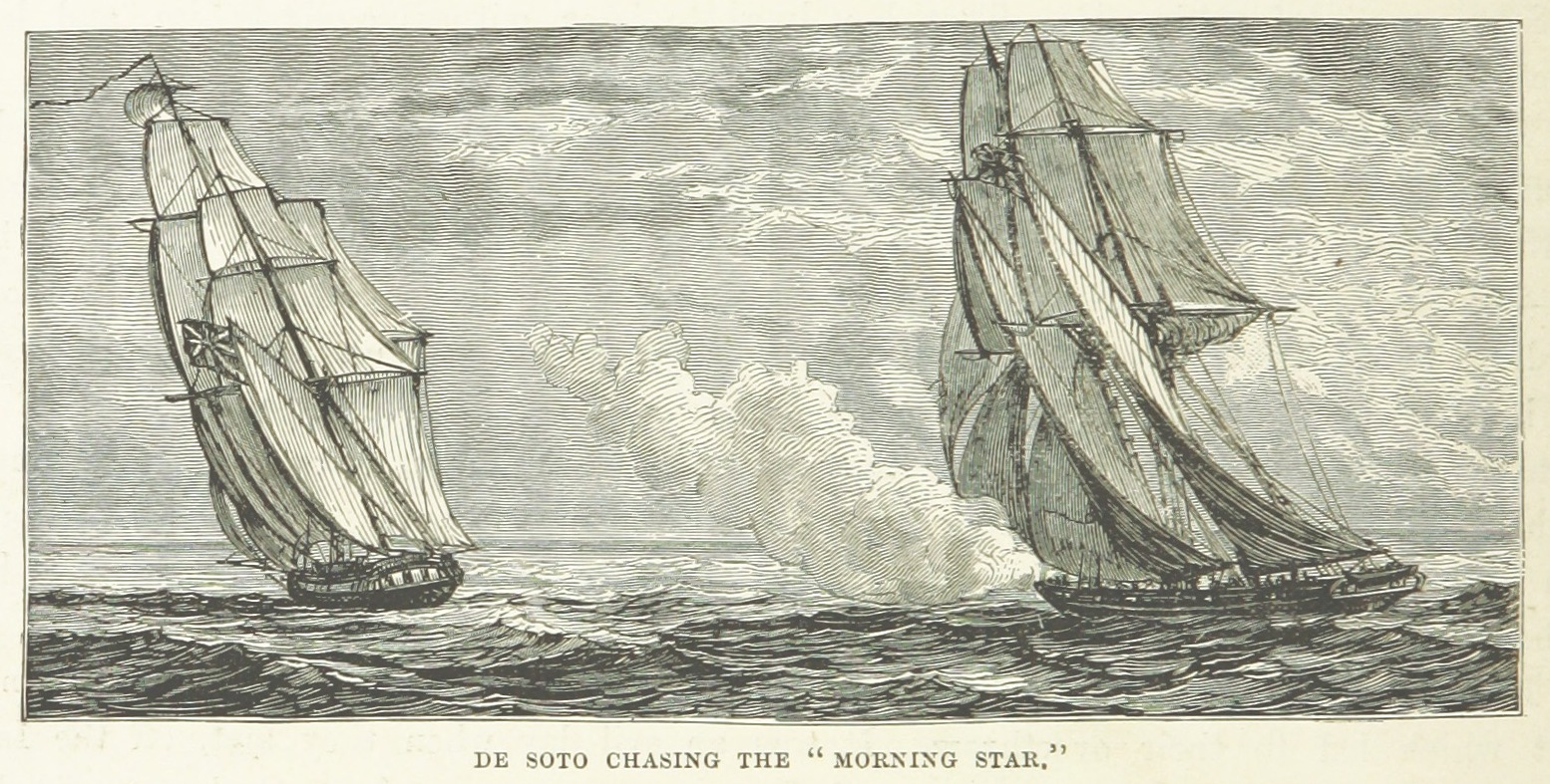 De Soto chasing the Morning Star
