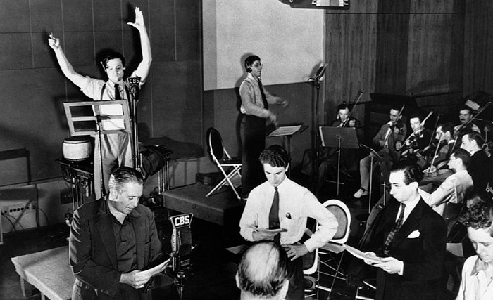 Mercury Theatre Radio Rehearsal 1938