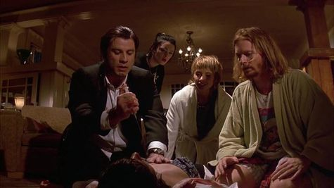 Pulp Fiction Scene result