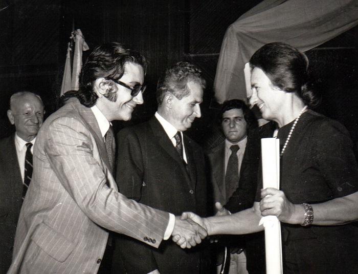 Elena Ceausescu Doctor Honoris Causa Universidad de Buenos Aires