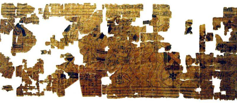 Turin Erotic Papyrus Scene white