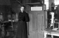 Photograph of Marie Sklodowska-Curie (1867-1934) Polish and naturalised-French physicist and chemist who conducted pioneering research on radioactivity. She was the first woman to win a Nobel Prize. Dated 1930