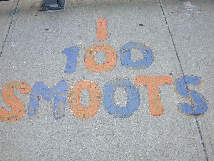 100 Smoot mark result