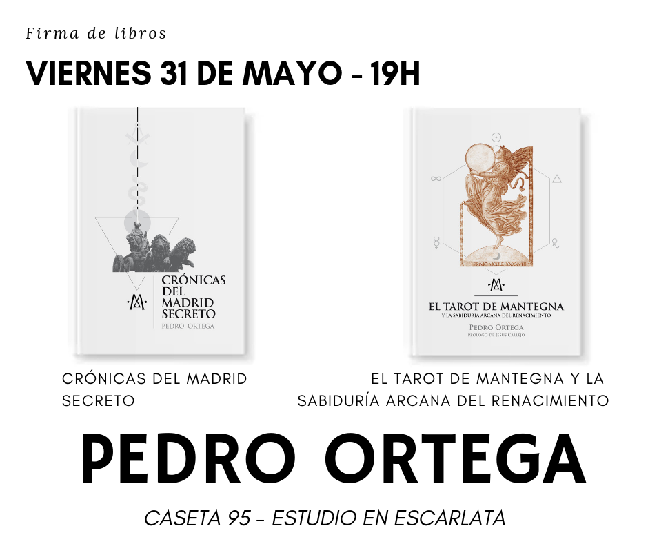 Firma Pedro Ortega