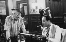 """Front Page, The"" Dir. Billy Wilder and Jack Lemmon 1974 U-I © 1978 Gunther / MPTV"