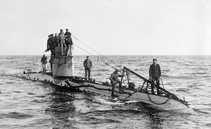 German UC 1 class submarine