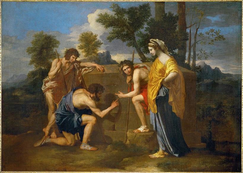 2048px Nicolas Poussin Et in Arcadia ego deuxième version 1