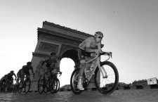 CYCLISME - TOUR DE FRANCE 2019 - 2019 28/07/2019  RAMBOUILLET/PARIS CHAMPS ELYSEES FRANCE bernal (egan) - (col) -  Arc de triomphe thomas (geraint) - (gbr) - PRESSE SPORTS FAUGERE FRANCK