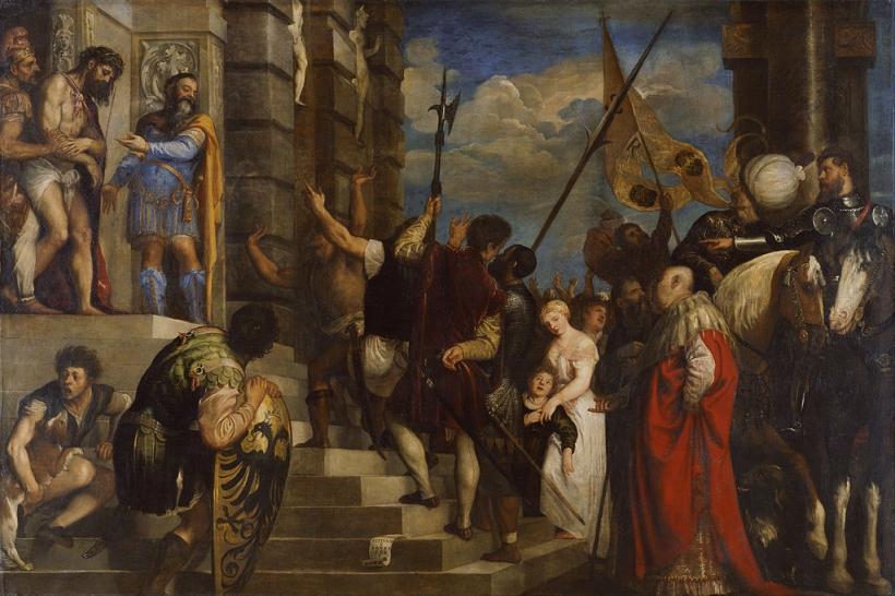Ecce Homo de Tiziano.