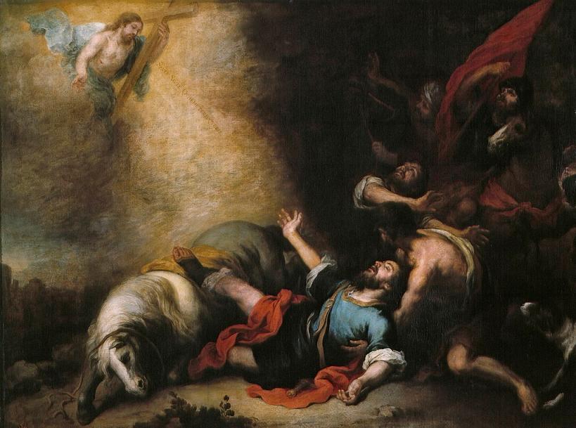 La conversión de san Pablo de Murillo