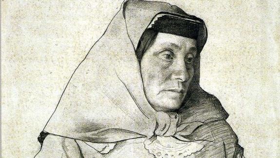 Yekaterina Gueladze por Isaac Brodskiy DP