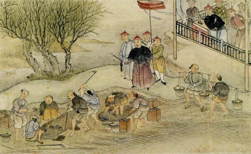 Destruction of opium in 1839 e1571219406984