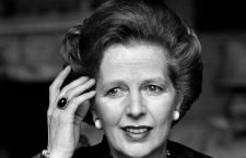 British Prime Minister Margaret Thatcher photographed by Jane Bown , 1983