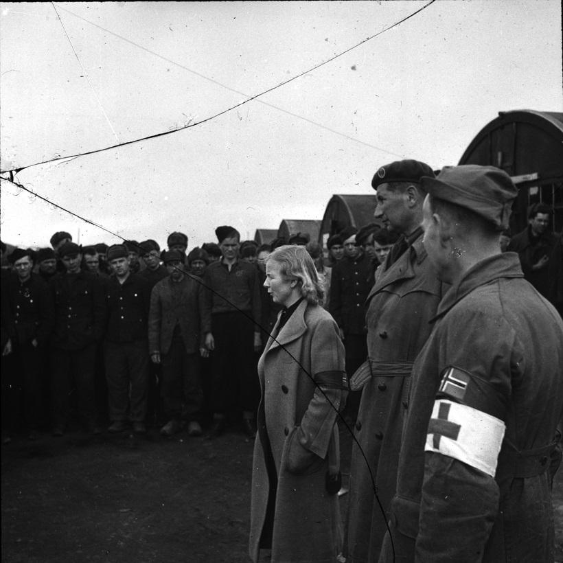 Frigjøring av allierte krigsfanger i Norge PA0276U1 16
