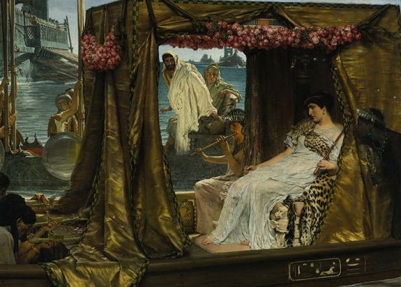 Lawrence Alma Tadema Anthony and Cleopatra result