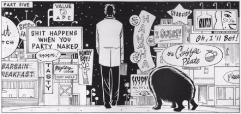 LIKE A VELVET GLOVE CAST IN IRON by Daniel Clowes possible Header or Featured Edited