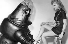 """Forbidden Planet"", Anne Francis, Robby the Robot, MGM, 1956, **I.V."