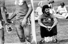 June 22, 1983 - G…Teborg, SVERIGE - 830622 Fotboll, Sverige A - Brasilien: Socrates, Brasilien.© Bildbyran - 6424 (Credit Image: © Bildbyran via ZUMA Wire)