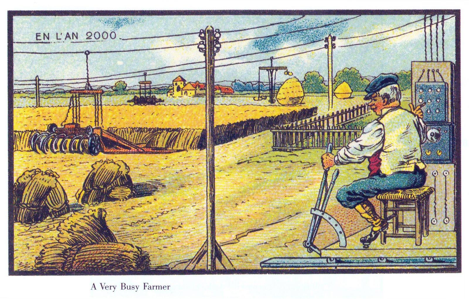 France in XXI Century. Farmer