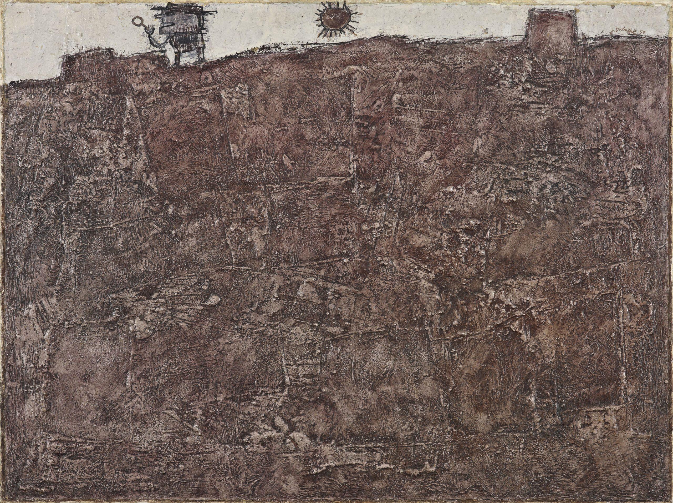 Le géologue serie Tables paysagées paysages du mental pierres philosophiques 1950 Fondation Gandur pour lArt Genéve scaled