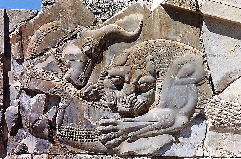1280px Persépolis. Lion taureau2