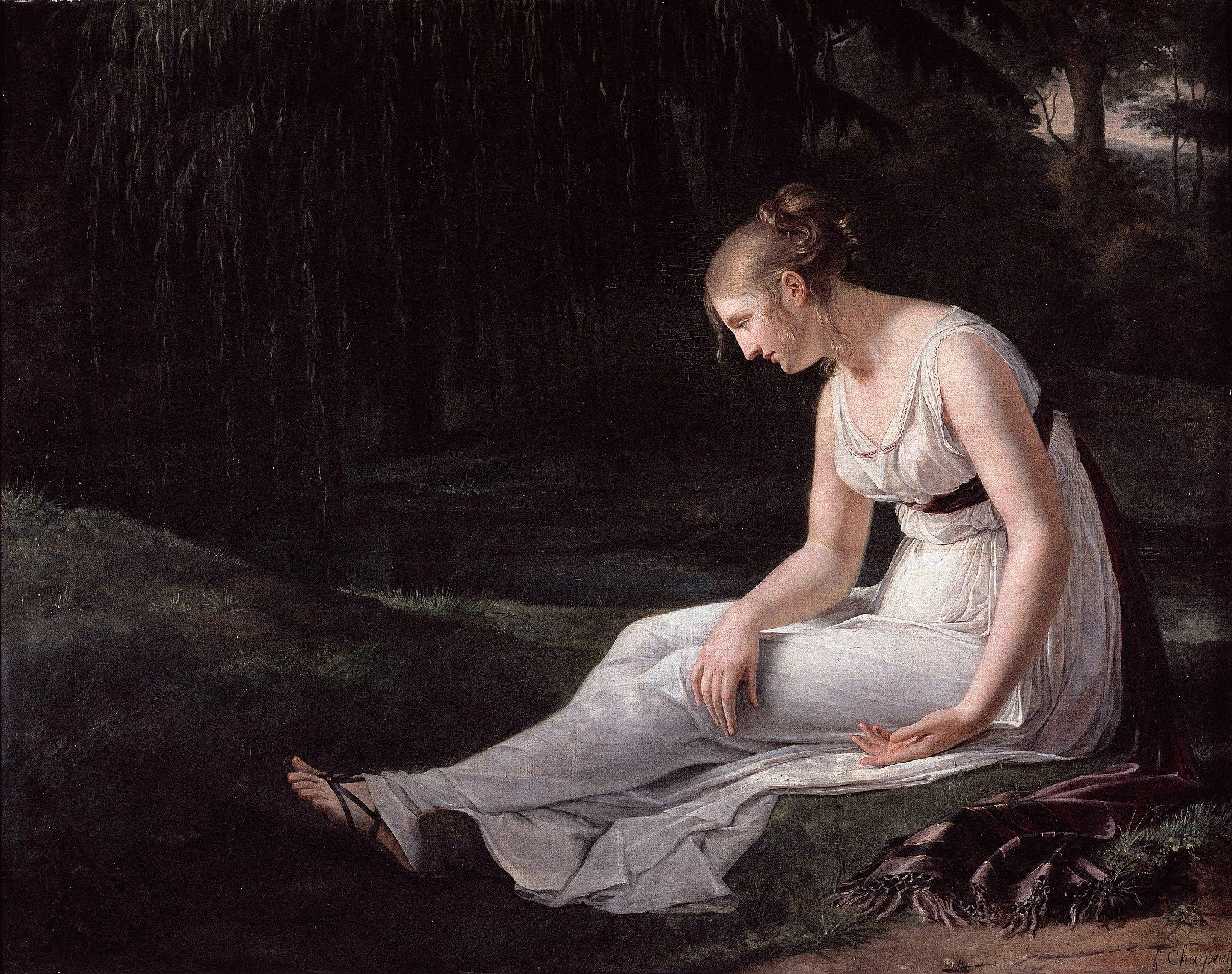 2048px Charpentier Constance Marie Melancholy 1801