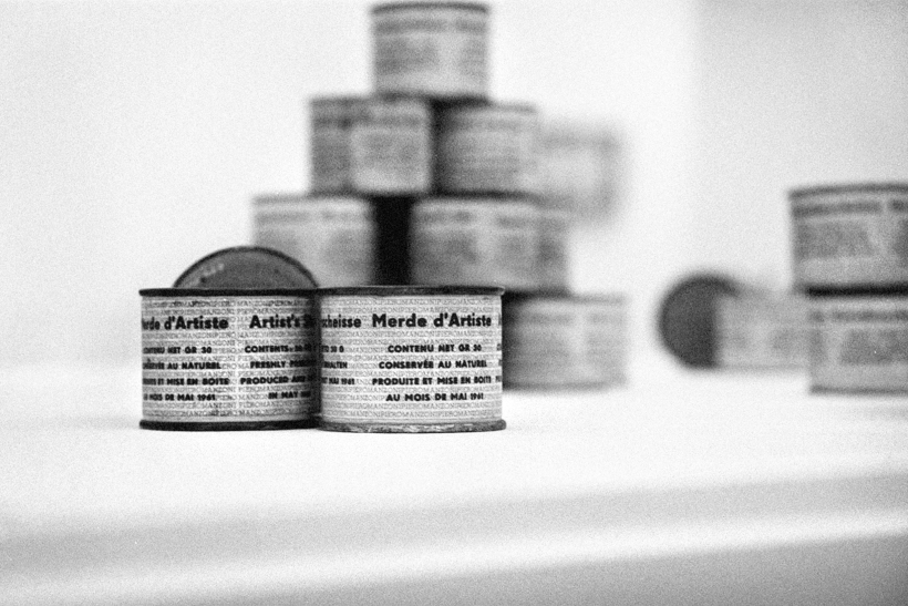 Merda da artista Piero Manzoni 1961 Fotografía Cordon Press po