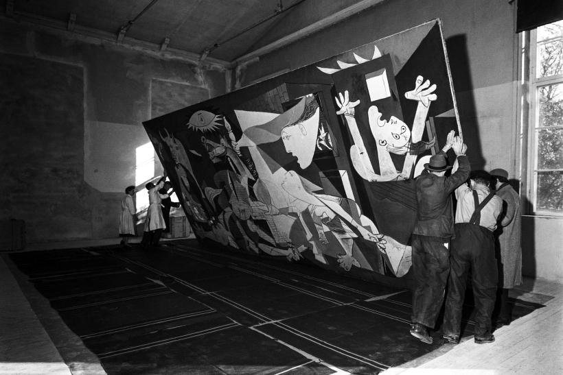 Picasso y el Guernica