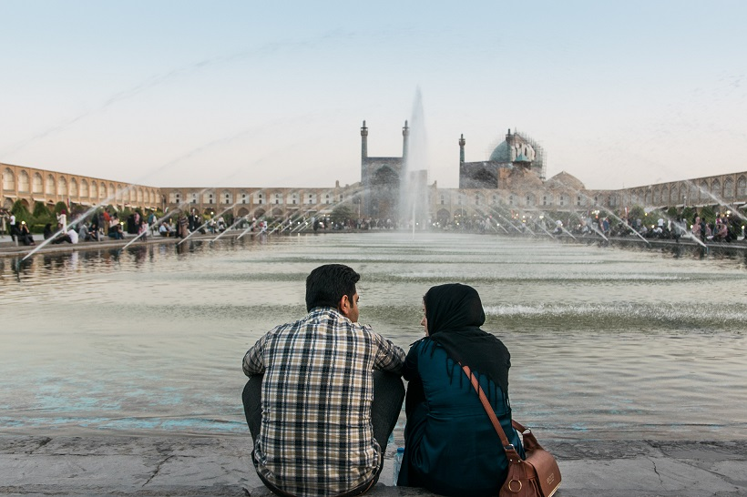 Plaza de Naqsh e Yahán Isfahán