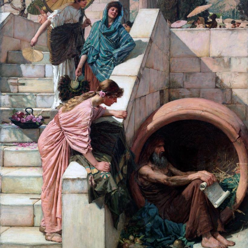 Waterhouse Diogenes