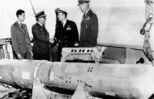 Lost H-bomb recovered off Palomares, Spain. It was lost when a American B-52 carrying 4 H-bombs broke up over the Mediterranean near Palomares. April 8, 1966. (CSU_ALPHA_1789) CSU Archives/Everett Collection