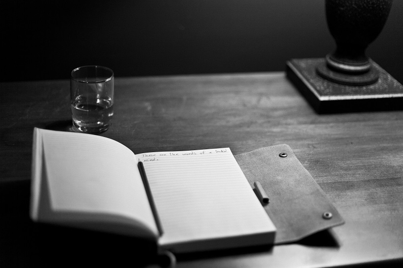writing table book black and white photography pen 1414153