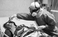 March 12, 2020, Tehran, Iran: Medics and nurses wearing masks and hazmat suits treat patients infected with the new coronavirus COVID-19, at Sina hospital in southern Tehran, Iran. According to the last report by the Ministry of Health, 10,075 people were diagnosed with the Covid-19 coronavirus and 429 people have died in Iran. The outbreak has infected a host of senior officials, politicians, clerics and members of the Revolutionary Guards.rea, and Italy. At least seven officials and politicians have died since Feb. 19, when Iran announced first infections and two deaths from the virus. IranÃ•s clerical rulers have been struggling to contain the spread of the virus, despite the closure of schools and universities and the suspension of religious, cultural and sports events across the country. Iranian officials have repeatedly urged people to avoid unnecessary trips and stay at home. (Credit Image: © Rouzbeh Fouladi/ZUMA Wire)