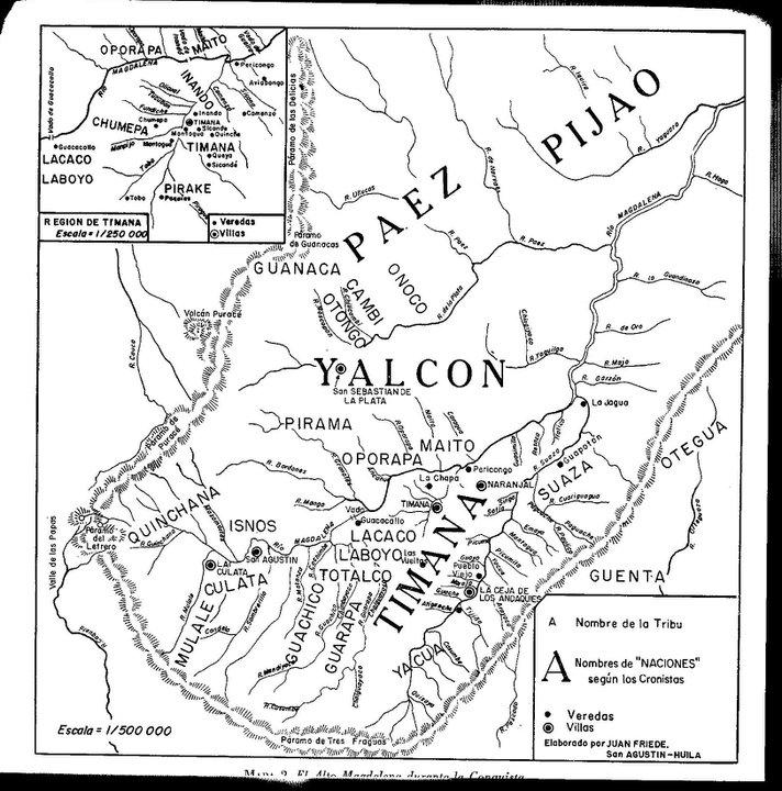 Yalcon mapa
