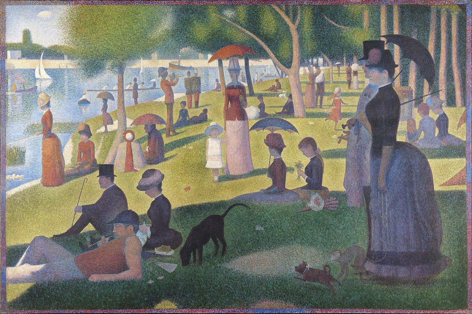 1622px Georges Seurat A Sunday on La Grande Jatte 1884 Google Art Project
