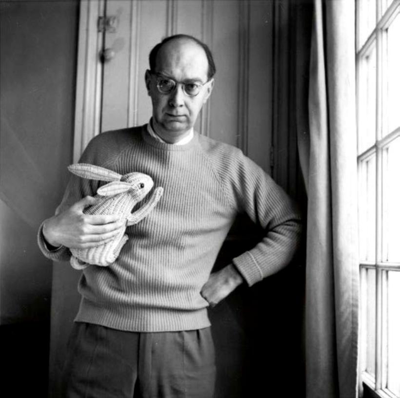 Autorretrato de Philip Larkin 1962