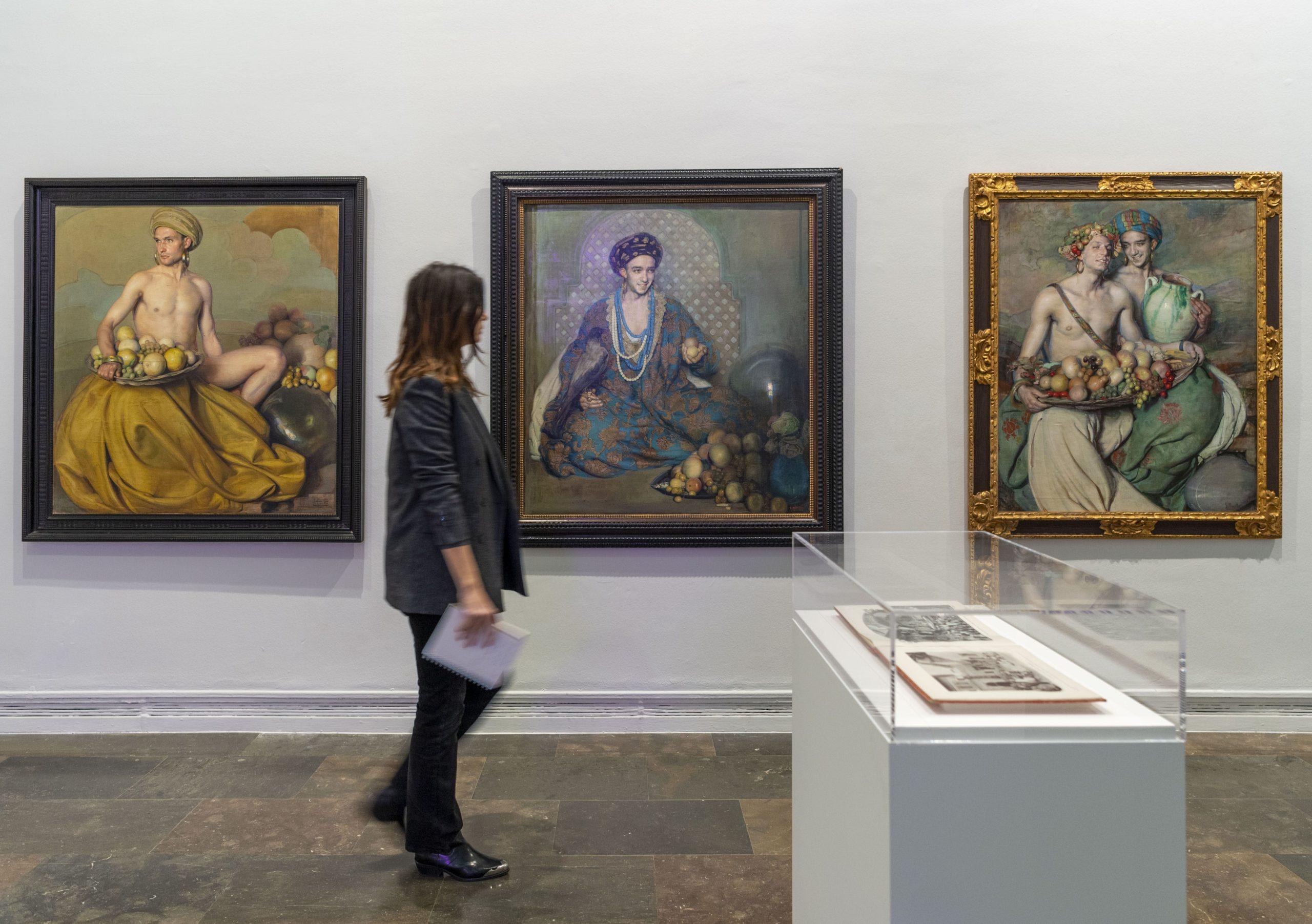 Obras del pintor Gabriel Morcillo en la muestra Orientalismos en el IVAM scaled