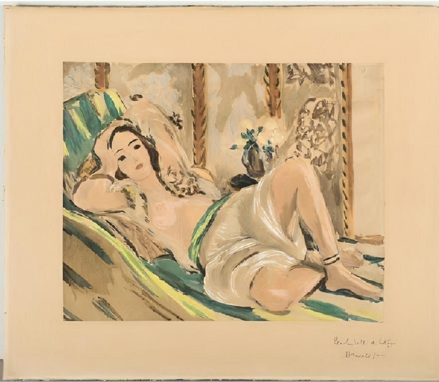 Odalisque étendue ca. 1924 Henri Matisse output