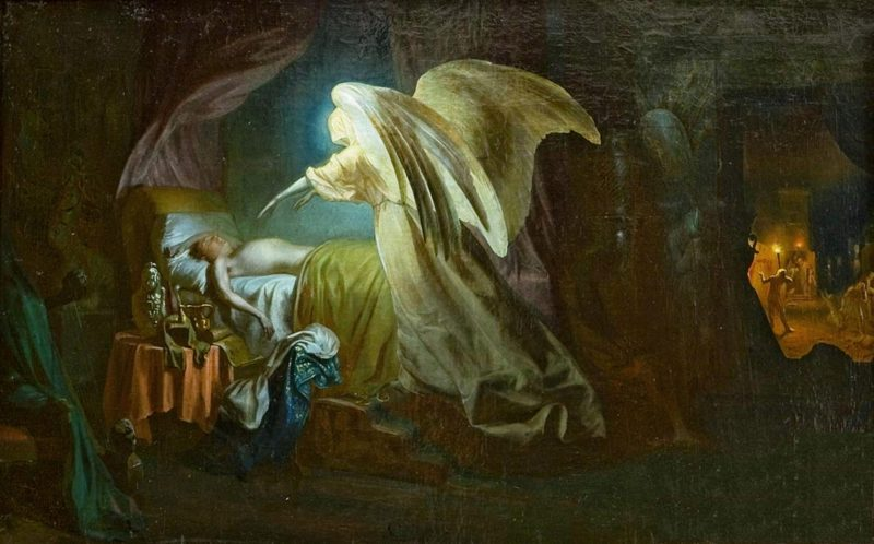Repin Angel of Death kills firstborn