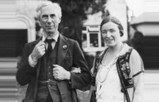 Bertrand Russell y Dora Black. Foto: BBC.