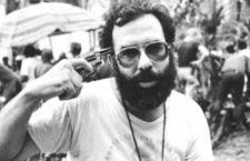 Francis Ford Coppola durante el rodaje de Apocalypse Now.