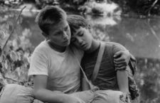 Will Wheaton y River Phoenix en Stand be me @Columbia Pictures