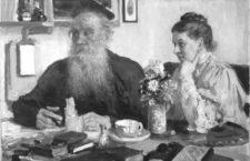 Guerra y paz (en casa de los Tolstói)