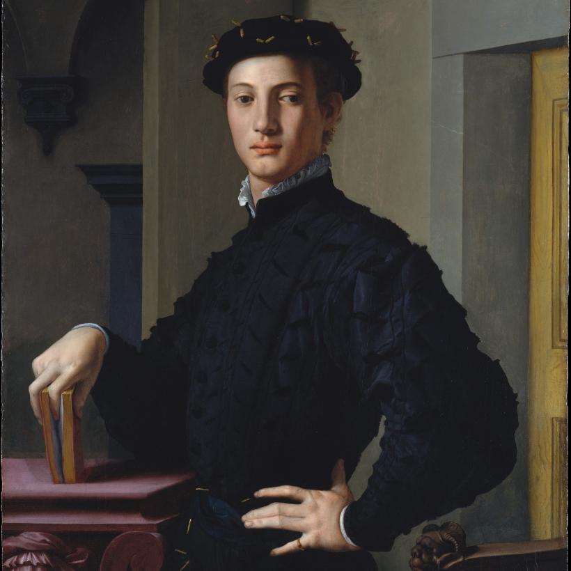1 Bronzino Agnolo di Cosimo di Mariano Portrait of a Young Man The Metropolitan Museum of Art