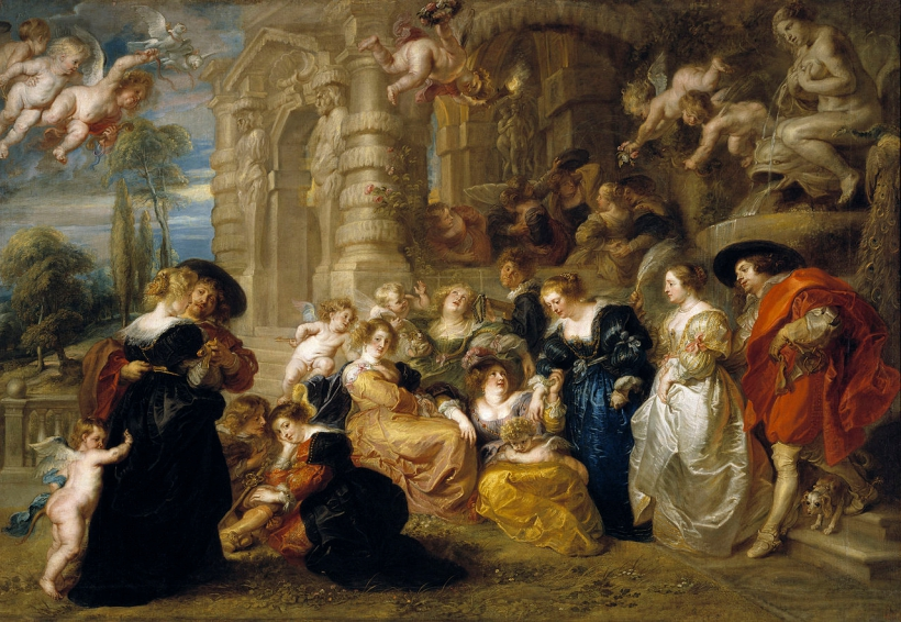 1280px El Jardín del Amor Rubens alta resolución