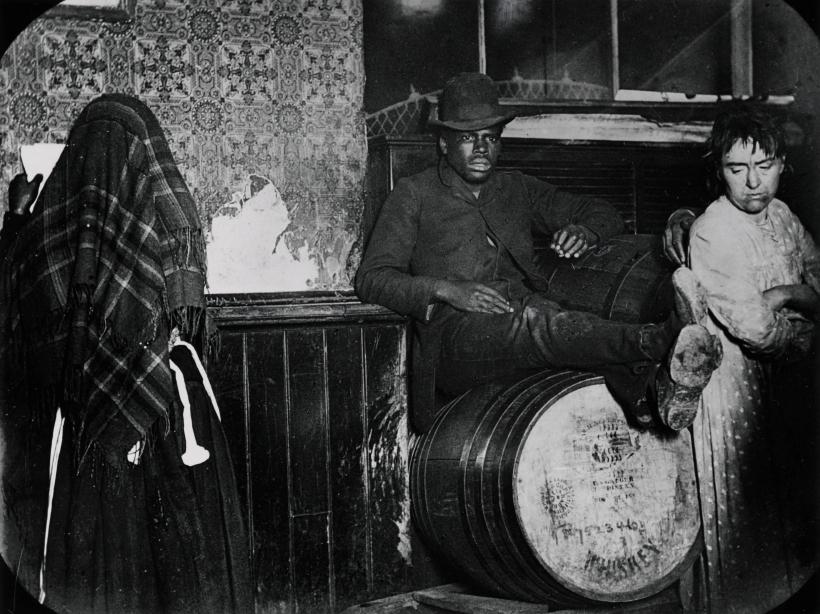 Five Points en 1888. Fotografía Jacob A. Riis DP