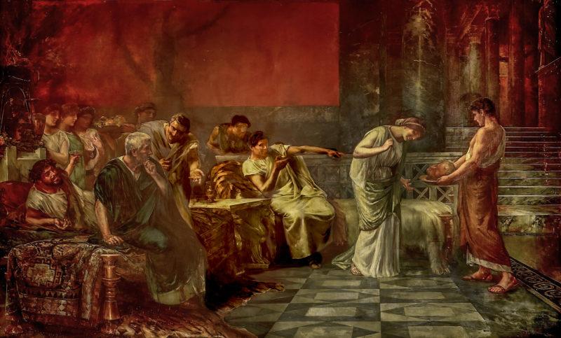 Fulvia y Marco Antonio o La venganza de Fulvia Museo del Prado